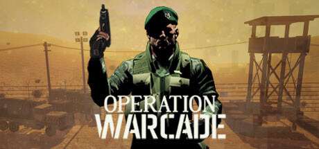 Operation Warcade - Retro shooter box machine turned VR.